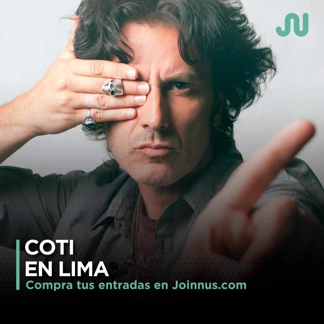 Coti en Lima / @joinnus - Facebook