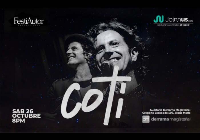 Coti en Lima / @festiautor - Facebook