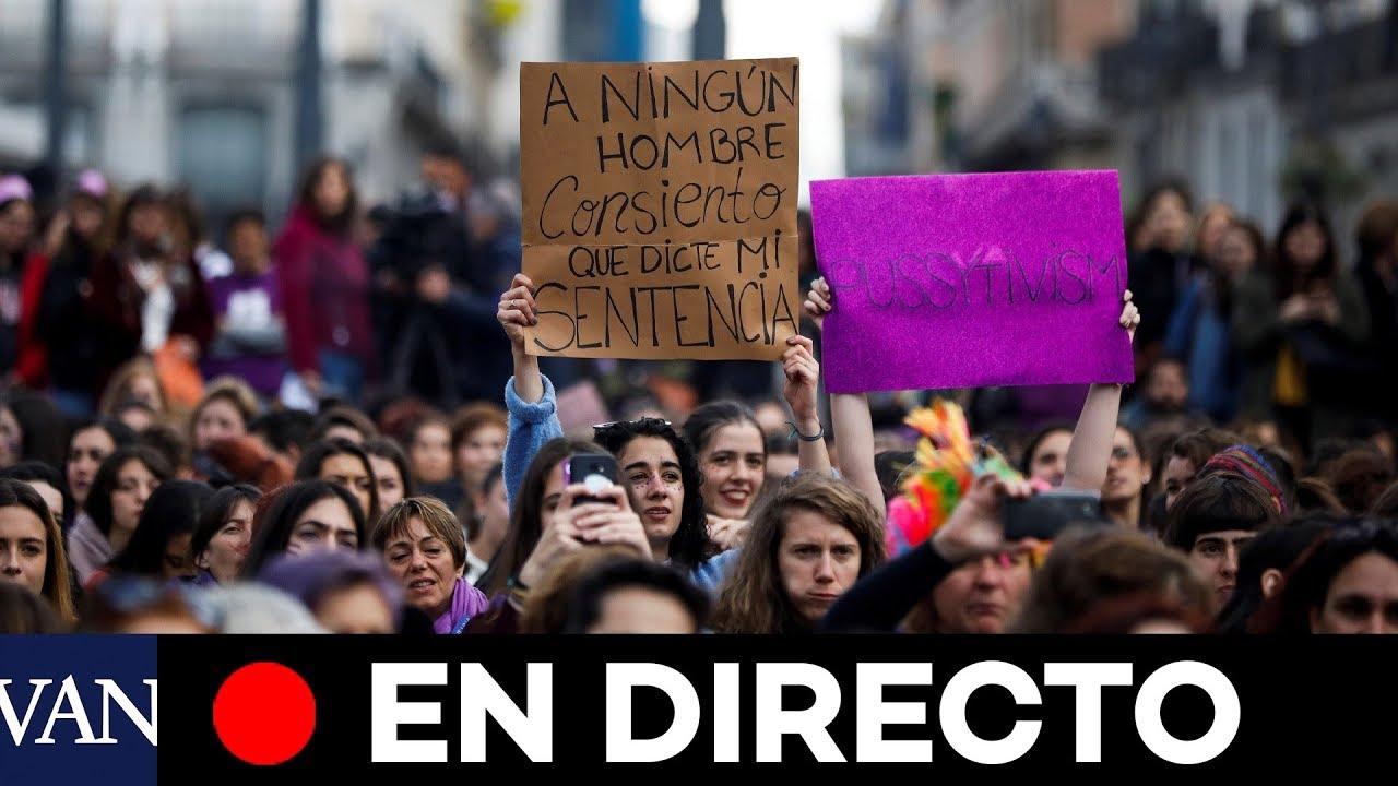 Manifestación en España