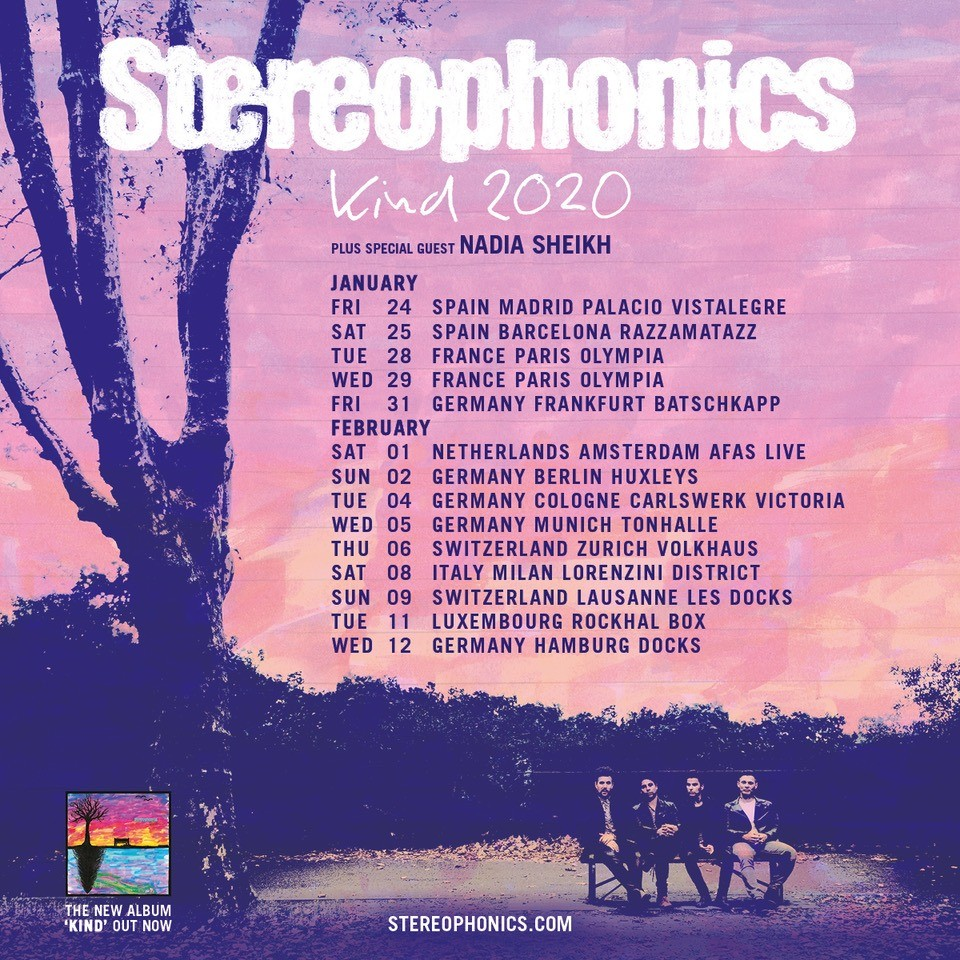 Stereophonics Tour Artwork