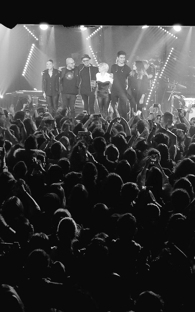 "La banda ""Quimera Tour"" / Foto: @myfavoritemovie_ en instagram"
