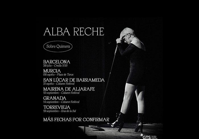 """Alba Reche regresa con los conciertos de verano """"sobre quimera"""""""