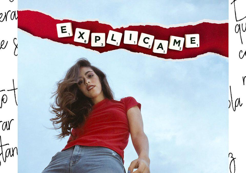 """Portada """"Explícame"""", lo nuevo de Luciana Elice"""