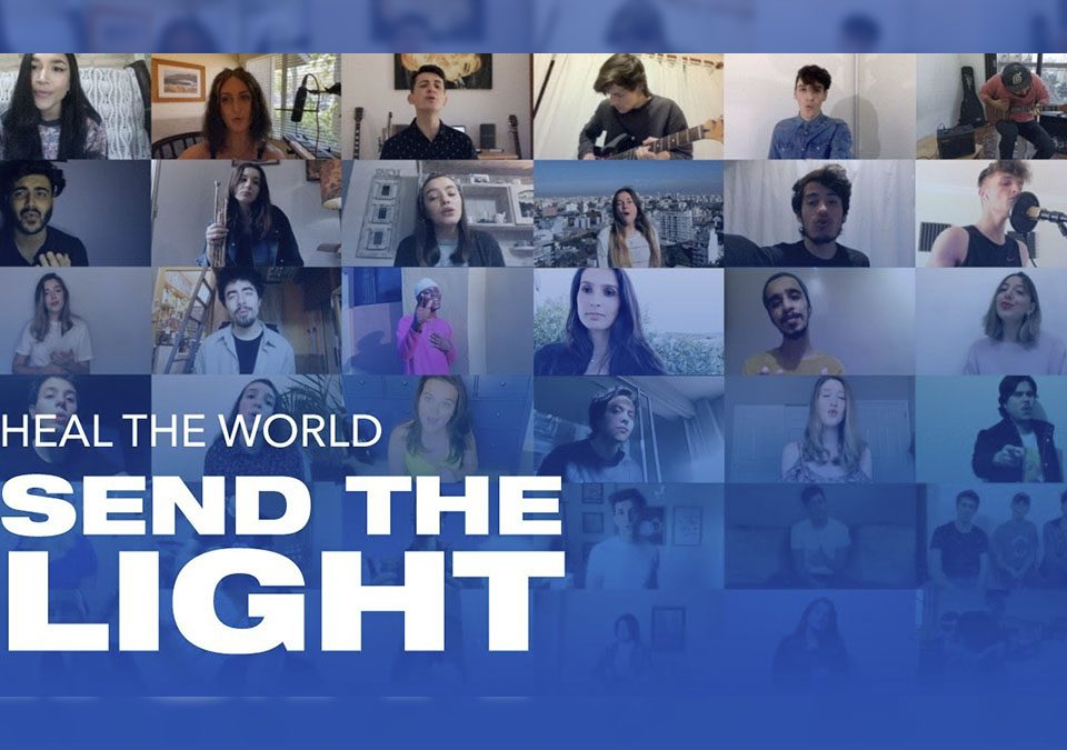 Send The Light - Heal The World Cover