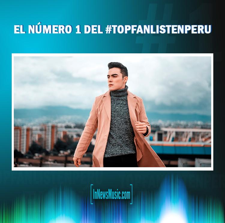 Número 1 Top Fan Listen Peru - Dennis Arana