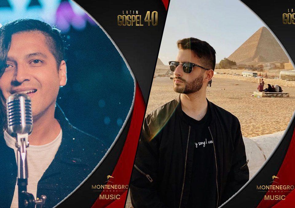 Latin Gospel 40 | Giovanny Olaya vocalista de @pescaovivo (izquierda) / Isaac Moraleja, cantante y compositor español (derecha)