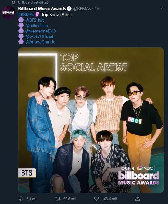 Premios Billboard 2020 Post Malone Y Bts Entre Los Nominados De Este Ano Innewsmusic Com