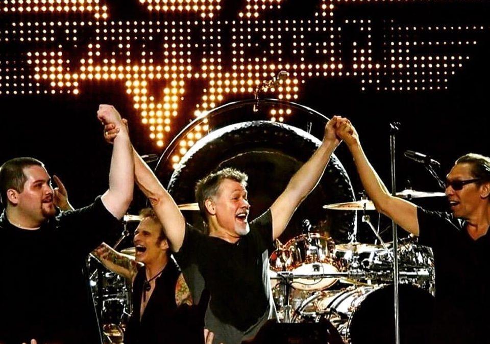 Eddie Van Halen, miembro y fundador de la agrupación Van Halen / Foto: Facebook Eddie Van Halen
