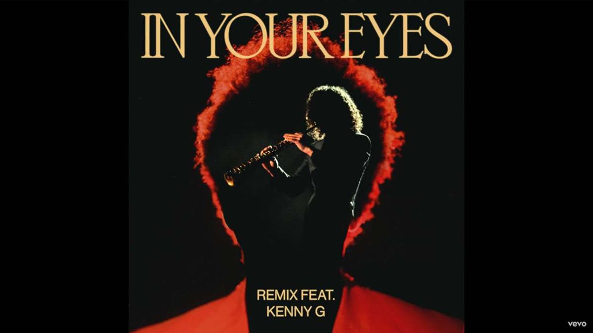 In Your Eyes (remix) lo nuevo de The Weeknd y Kenny G / Foto: Captura video