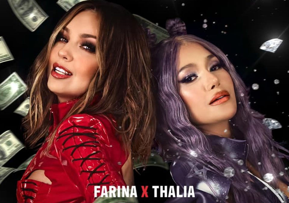 """Farina y Thalía presentan """"Ten Cuidao'"""" / Foto: @thalia - Facebook"""