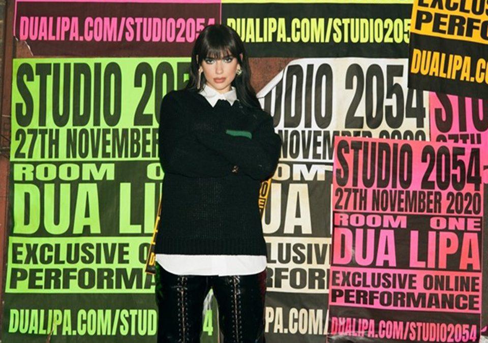"""Dua Lipa presenta """"Studio 2054"""" / Foto: Difusión"""