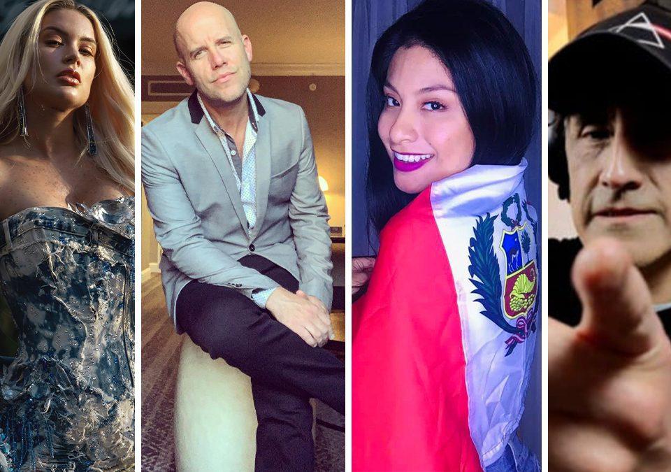 Leslie Shaw, Gian Marco, Wendy Sulca y Daniel F entre otros músicos se pronunciaron contra el gobierno de Manuel Merino