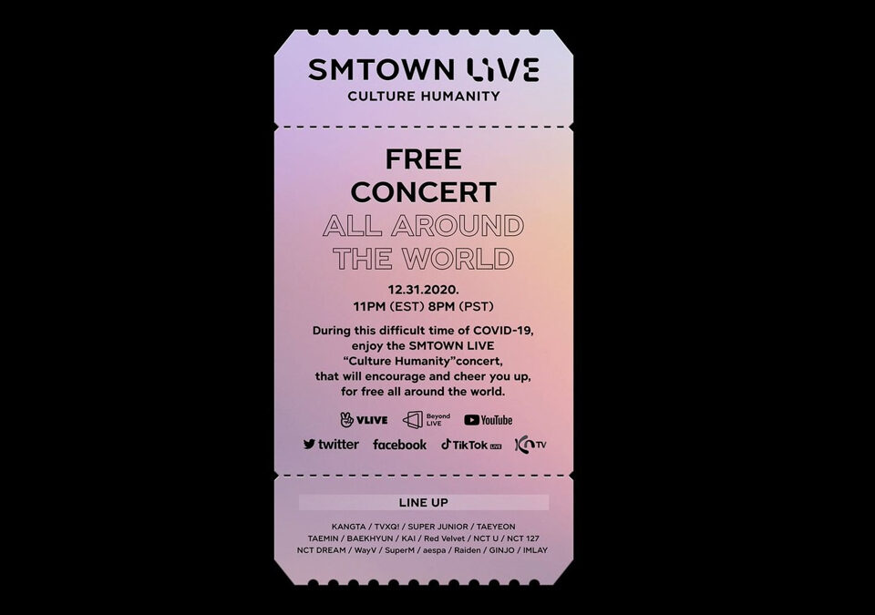 """SMTOWN LIVE """"Culture Humanity"""""""