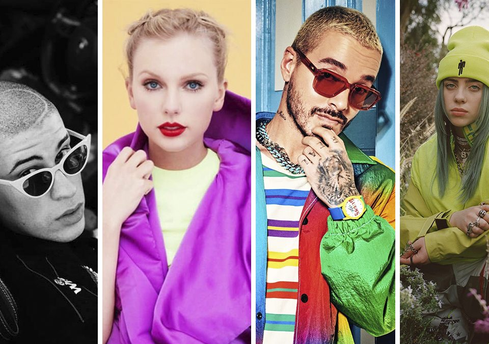 Los 10 mejores artistas de Spotify en 2020