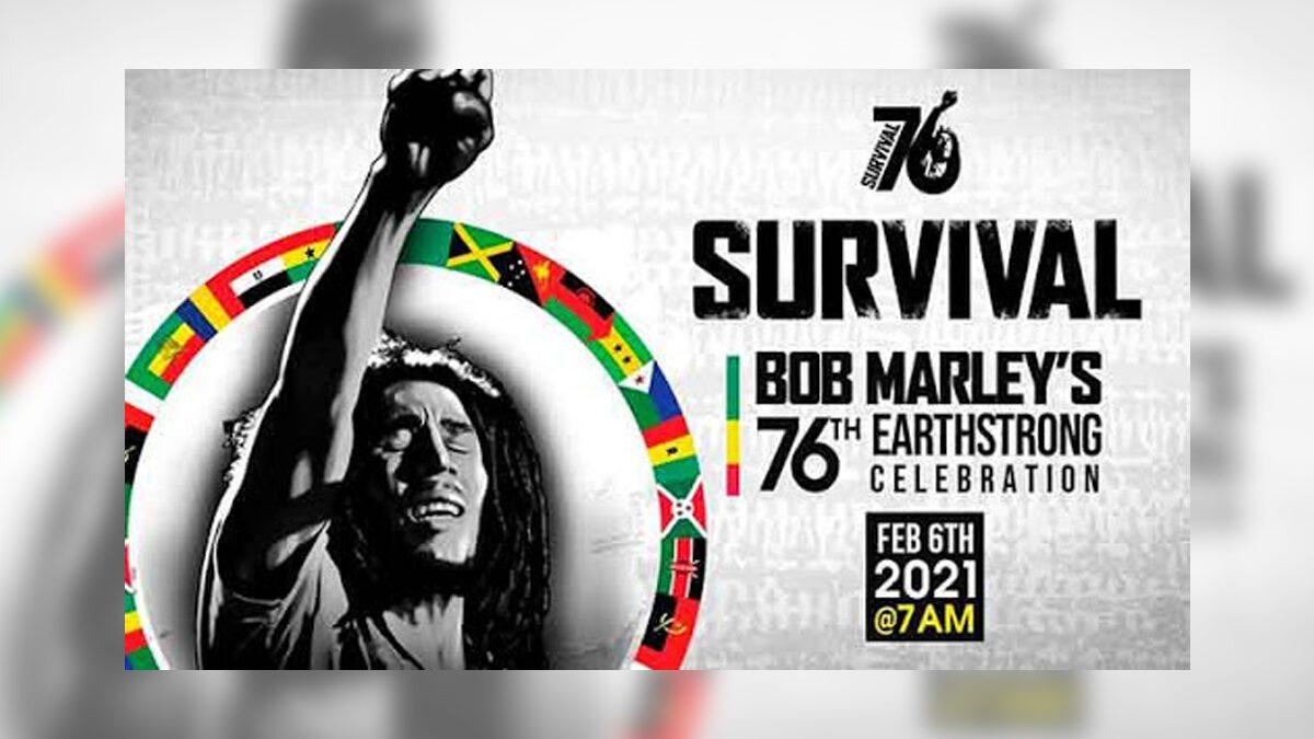 BOB MARLEY DE CAMINO A SU CUMPLEAÑOS NÚMERO 76 ESTE 6 DE FEBRERO