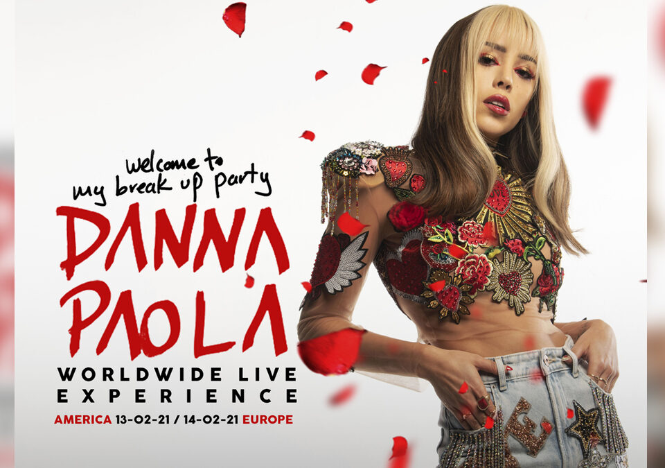 Danna Paola Worldwide Live Experience