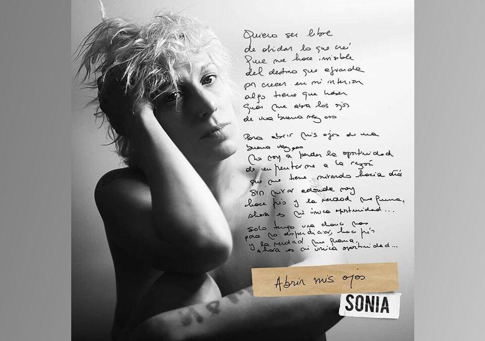 """Sonia presenta su nuevo sencillo """"Abrir los ojos"""""""