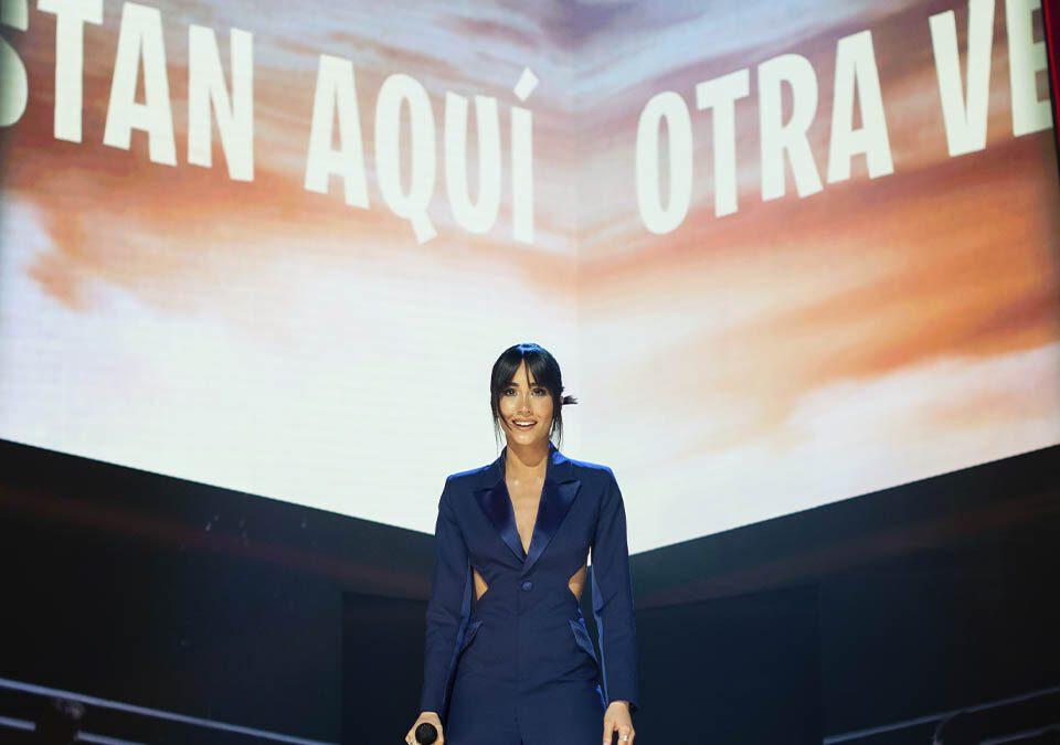 Cortesía de la Academia de Cine Aitana actuacion Goya / Foto: ©Ana Belén Fernández