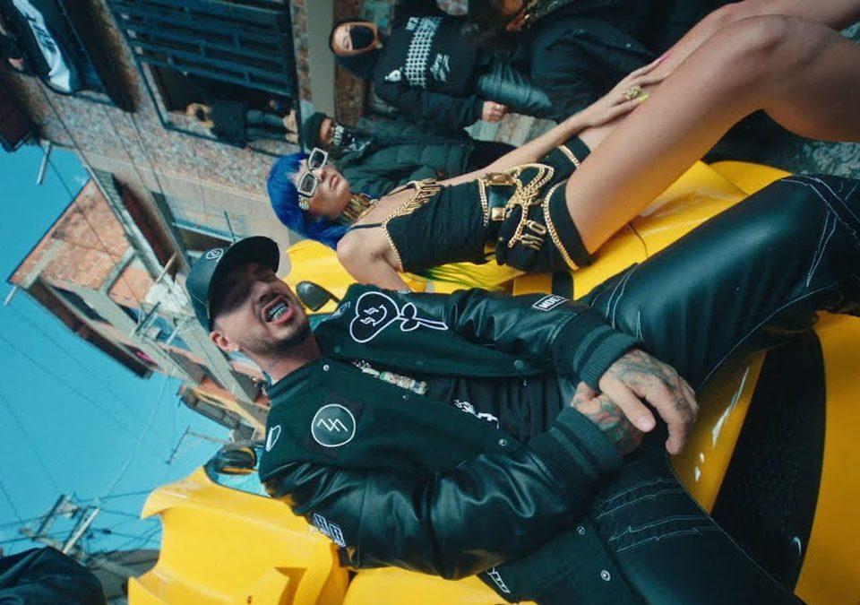 """J Balvin lanzó la primera canción de su próximo álbum, """"Ma G"""" / Foto: YouTube"""