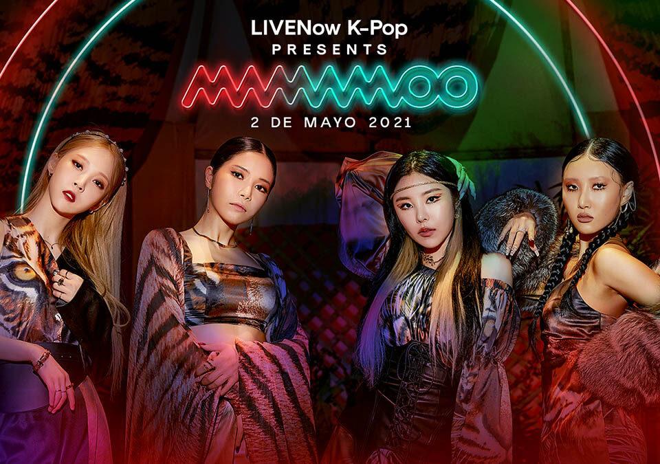 El fenómeno K-Pop Mamamoo salta al streaming con un show en LIVENow