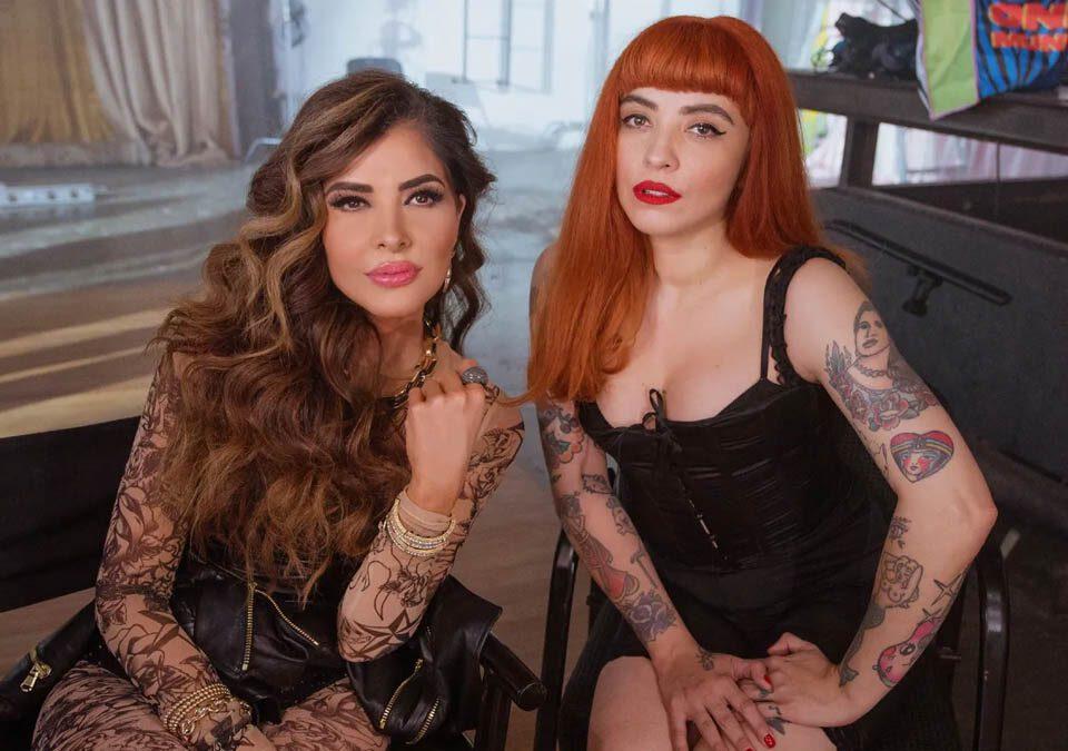 "Mon Laferte y Gloria Trevi presentan ""La Mujer"""