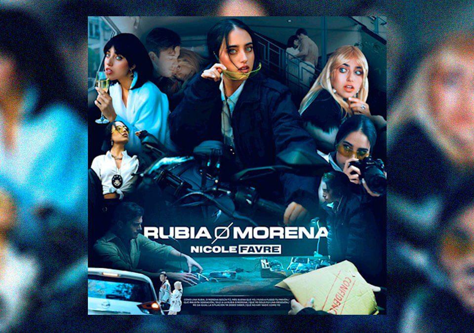 "Nicole Favre presenta ""Rubia o Morena"""