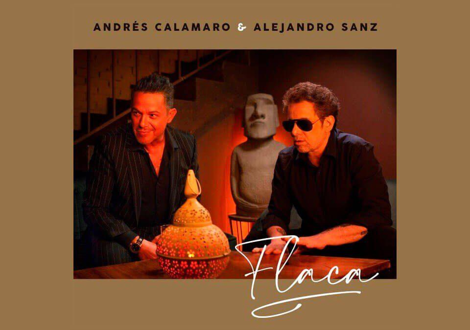 """Andrés Calamaro y Alejandro Sanz se unen para una nueva versión de """"Flaca"""""""