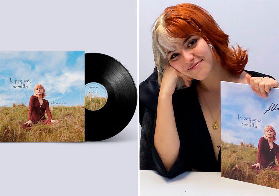 """Alba Reche es número 1 en ventas con el formato vinilo de """"La Pequeña Semilla"""""""