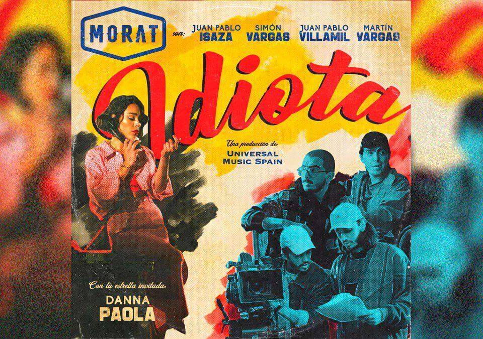 "Morat anuncia su colaboración con Danna Paola titulada ""Idiota"""