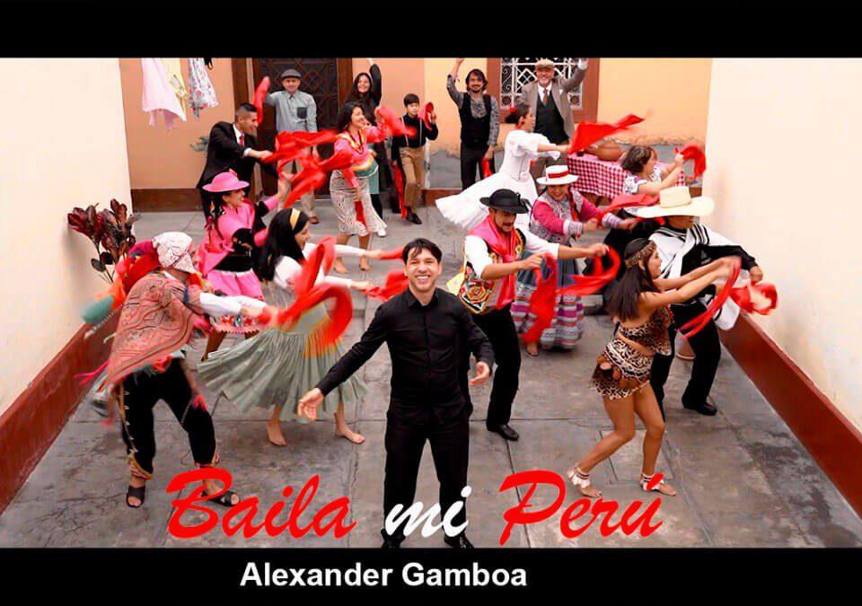 """El cantautor venezolano, Alexander Gamboa gana premio de Ibermúsicas """"Canciones de la Cuarentena 2020"""" por su tema """"Baila Mi Perú"""""""