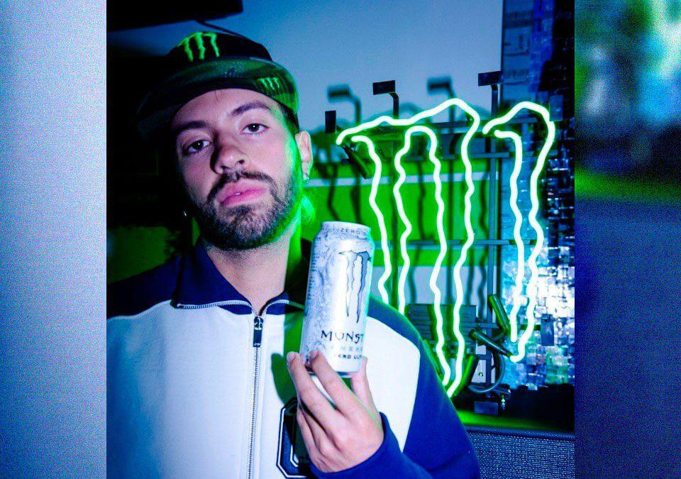 Feid se asoció con Monster Energy / Foto: Foto por: Cody Dobie, Monster Energy