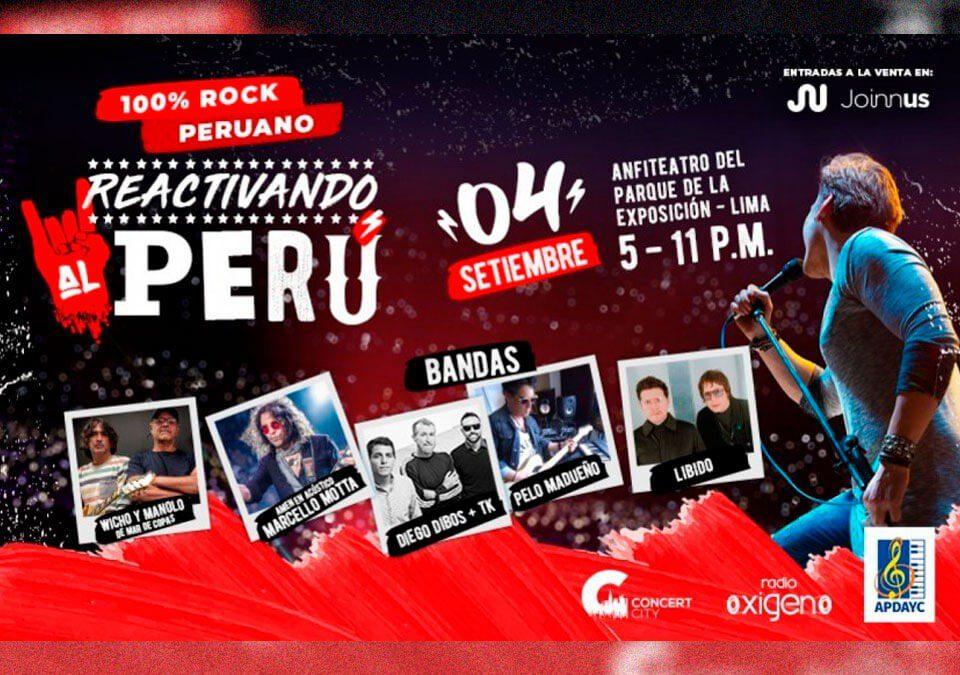 Reactivando al Perú - 100% Rock Peruano