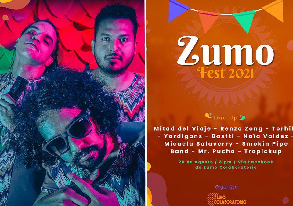 ZUMO FEST: El festival virtual reúne artistas colombianos y peruanos