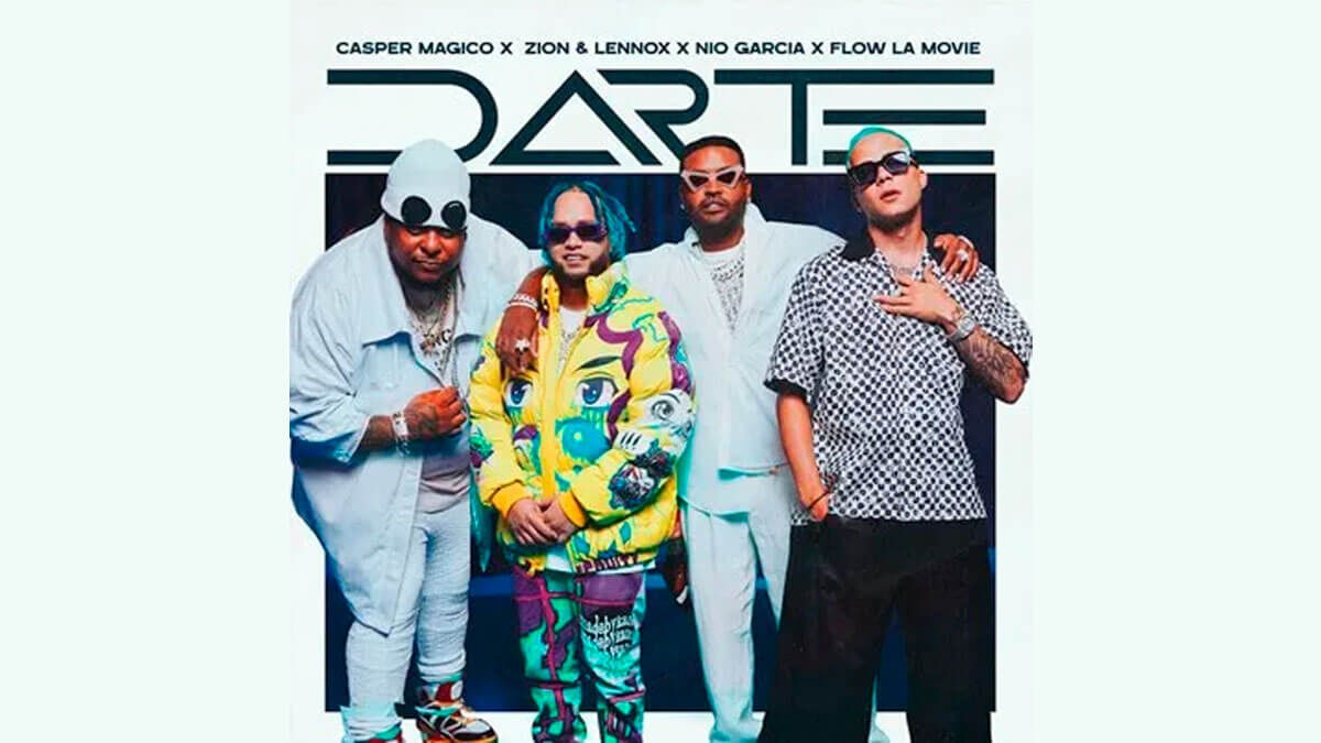 """Casper Mágico, Zion & Lennox, Nio Garcia y Flow La Movie se unen en provocativa canción """"Darte"""""""