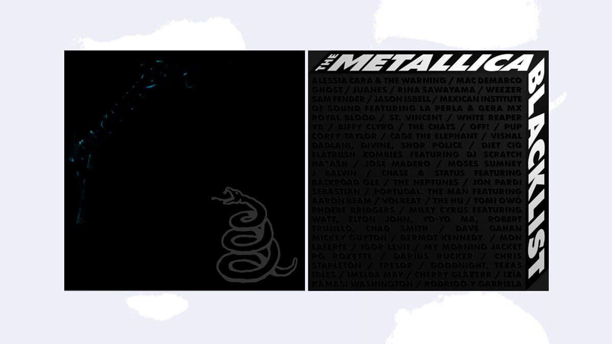 """Metallica presenta la remasterización de """"The Black Álbum"""" y el disco larga duración """"The Metallica Blacklist""""."""