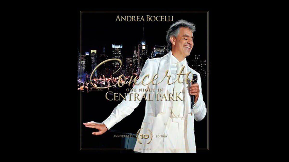 One Night In Central Park de Andrea Bocelli