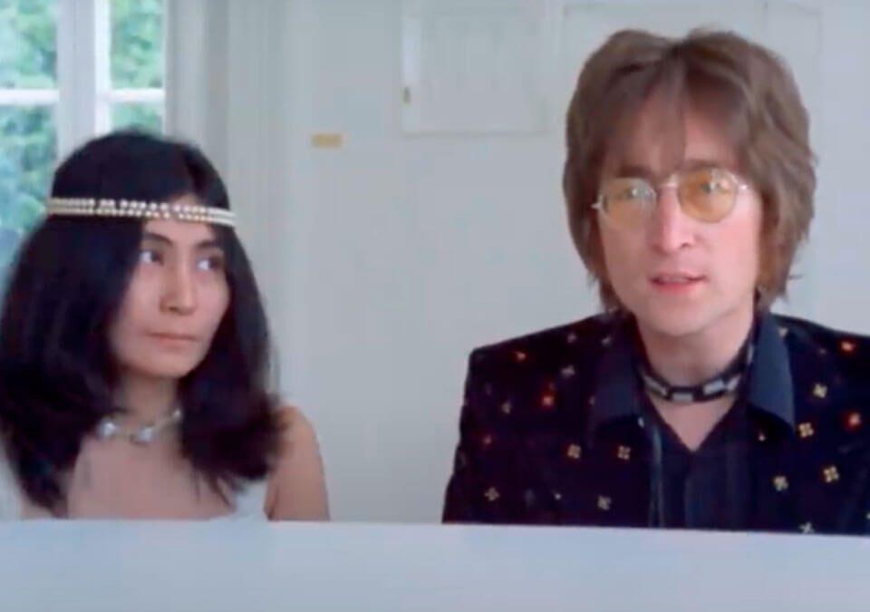 """El himno de John & Yoko Ono Lennon, """"Imagine"""", continúa celebrando su 50 aniversario, y acaba de ser certificada triple platino en EE.UU"""
