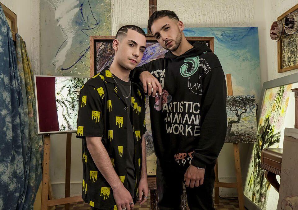 "Inti y Vicente regresan con un increíble sencillo agridulce titulado ""Lienzo"". / Foto: Rebeleon Entertainment"